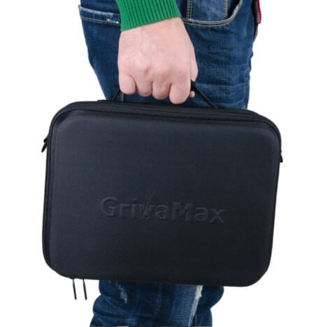 grivamax laser cap carrying case